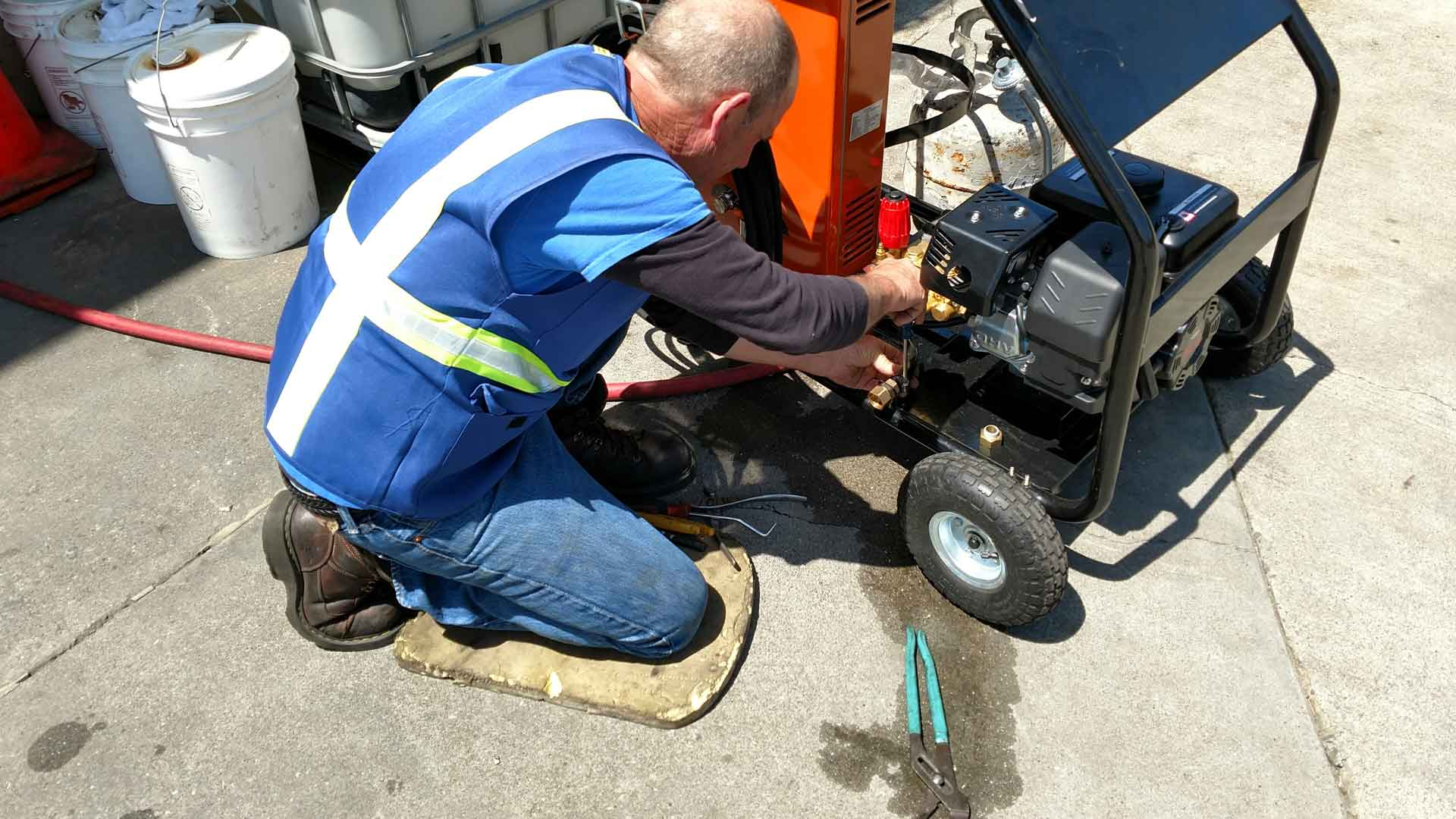 pressure washer service and repair